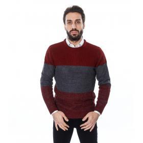 Maglione uomo con strisce orizzontali -Tony Montoro