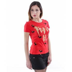 "T-Shirt ""Greatly Fashion Hilton P."" - donna"